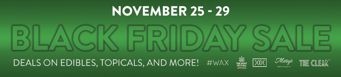 Black Friday Sale Nov 25-29