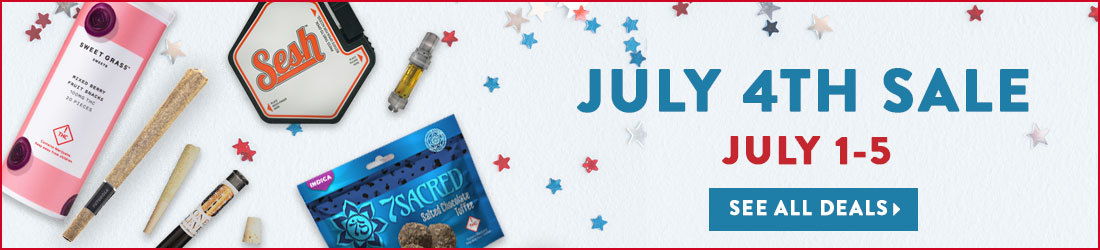 July 4th Sale July 1-5