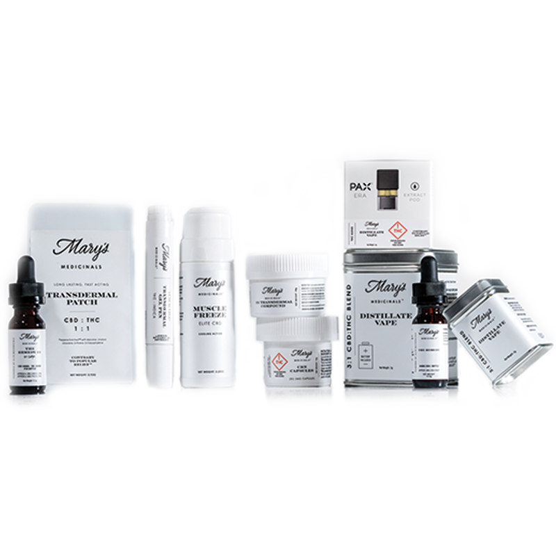 Mary's Medicinals topical products