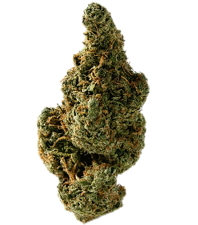 Golden Strawberry marijuana bud