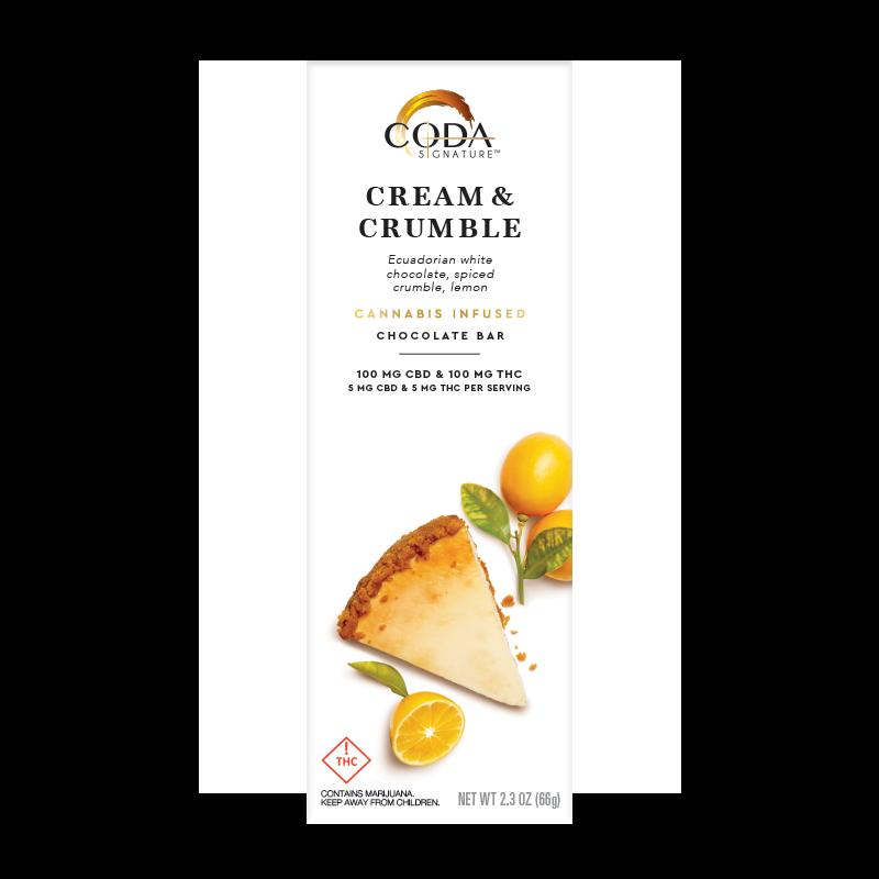 Coda Cream & Crumble 1_1 100mg