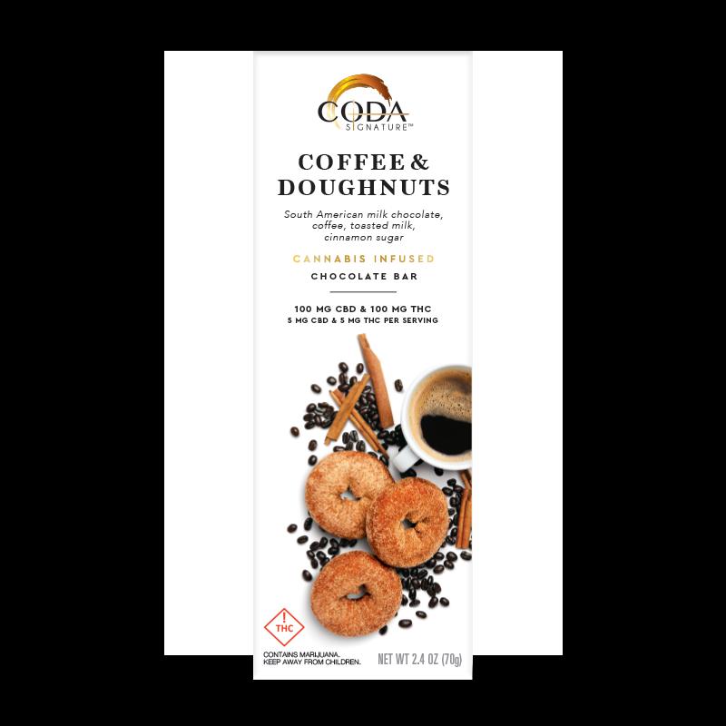 Coda Coffee & Doughnuts 1_1 100mg