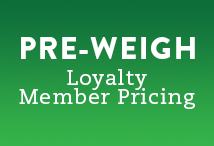 Pre-Weigh Loyalty Member Pricing