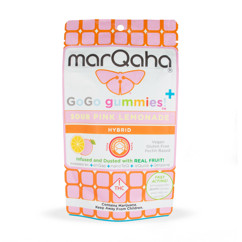 Marqaha Gummy Pink Lemonade 100mg
