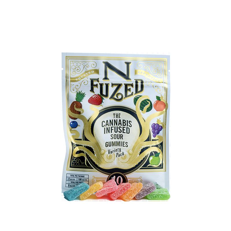 Nfuzed Sour Gummies 100mg