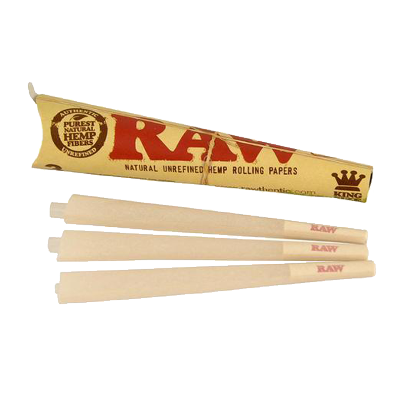 Raw King Cones 3-pack