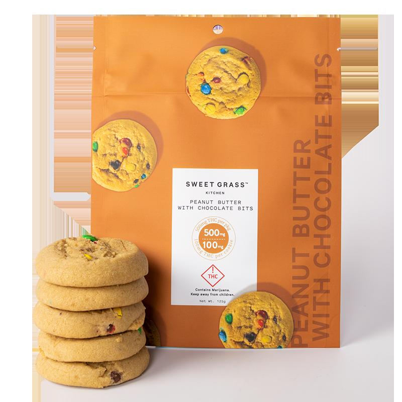 Sgk Peanut Butter Chocolate Bits Cookies 500mg