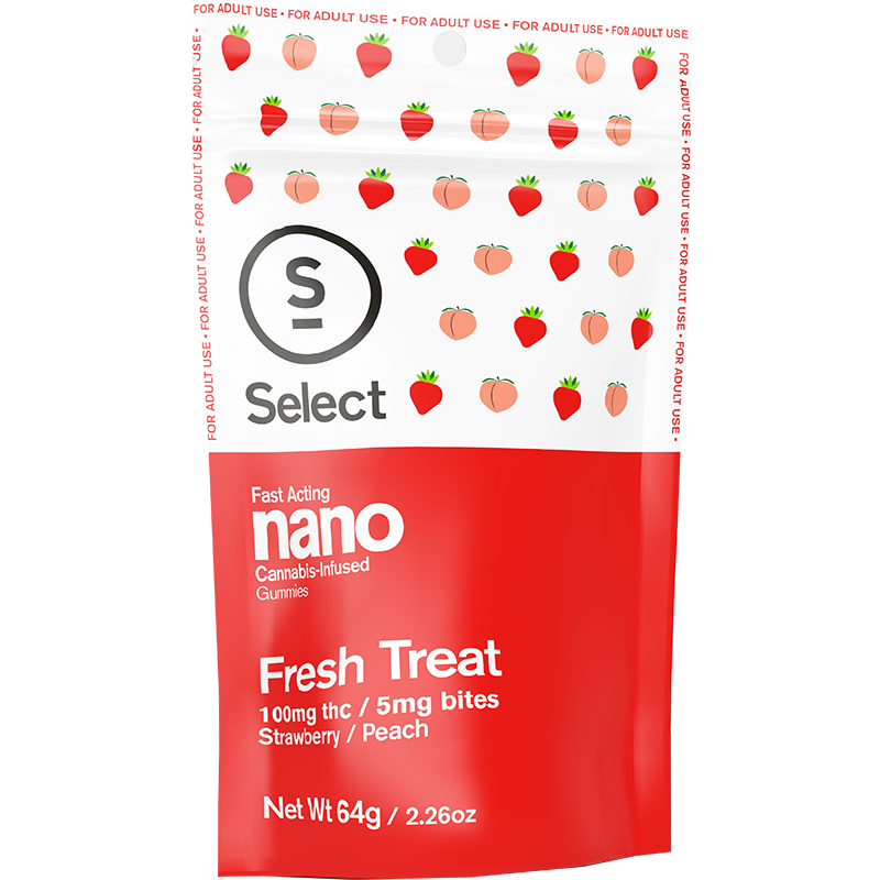 Select Nano Gummies Fresh Treat 100mg