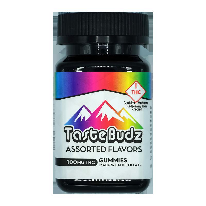Tastebudz Assorted Gummies 100mg