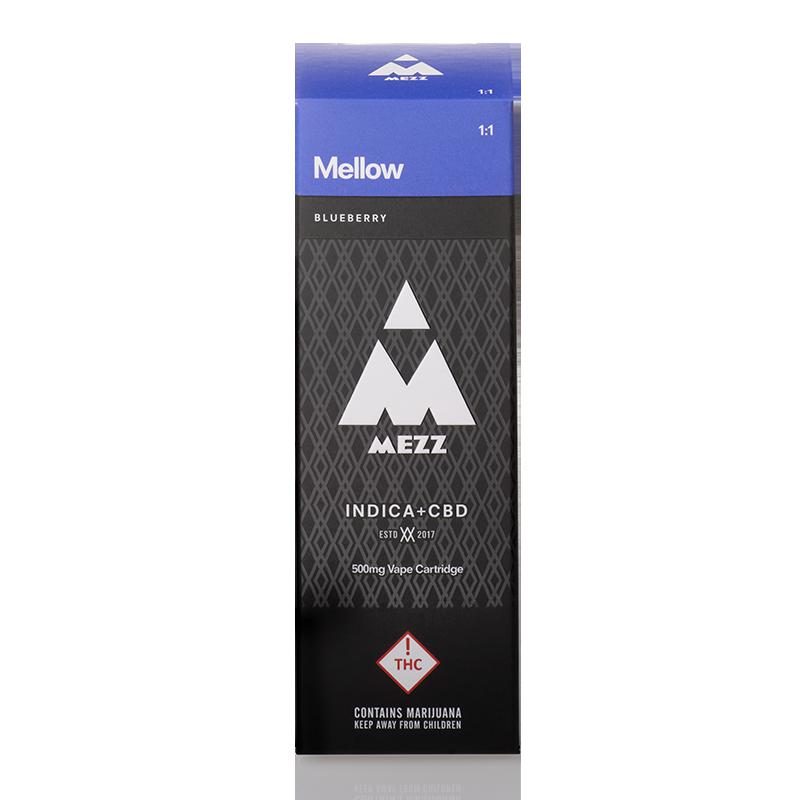 Mezz Mellow Cartridge 500mg