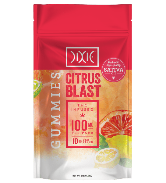 Dixie Gummies Citrus Blast 100mg