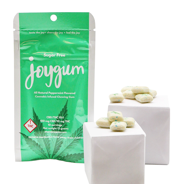 Joy Gum Peppermint 10:1 10mg