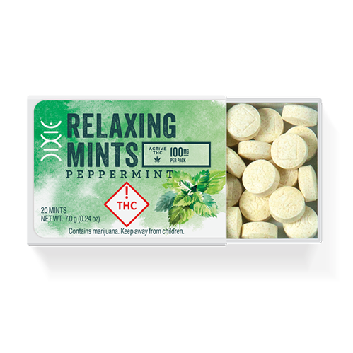 Dixie Mints Peppermint Relaxing 100mg