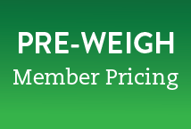 Pre-Weigh Member Pricing