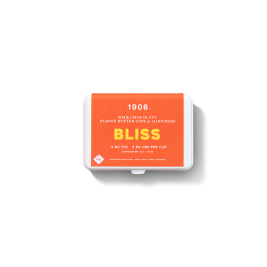 1906 Bliss Milk Chocolate Cups 10mg