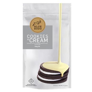 Blue Kudu Cookies & Cream Bar 100mg