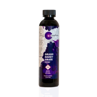 Cannapunch Drink Grand Daddy Grape 100mg