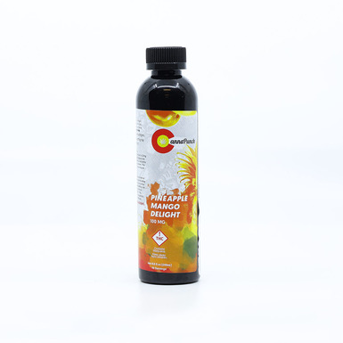 Cannapunch Drink Pineapple Mango 100mg