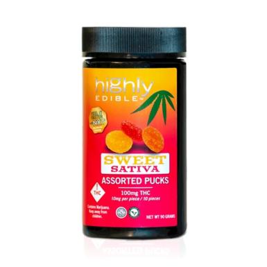 Cannapunch Highly Edible Sweet Sativa Pucks 100mg