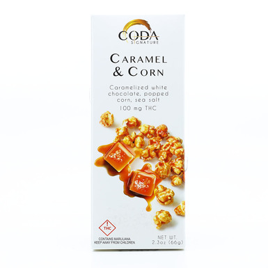 Coda Coda Caramel And Corn Bar 100mg