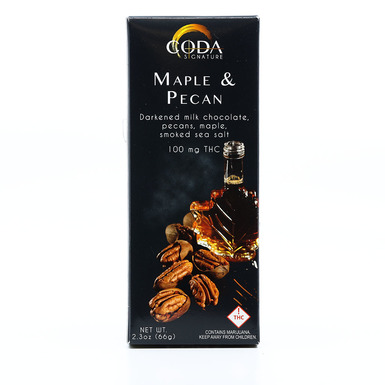 Coda Maple & Pecan Bar 100mg