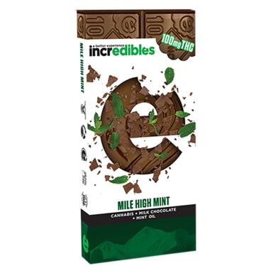 Incredibles Mile High Mint Bar 100mg
