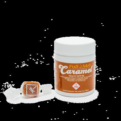 Infusiasm Full Melt Caramels 10pk THC 100mg