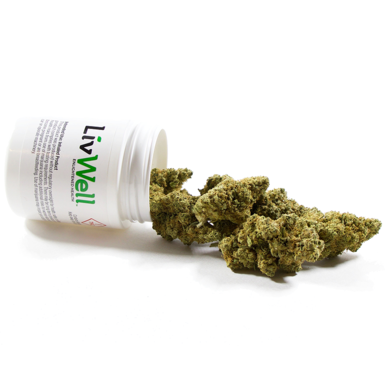 LivWell Pw 28g Indica Dominant