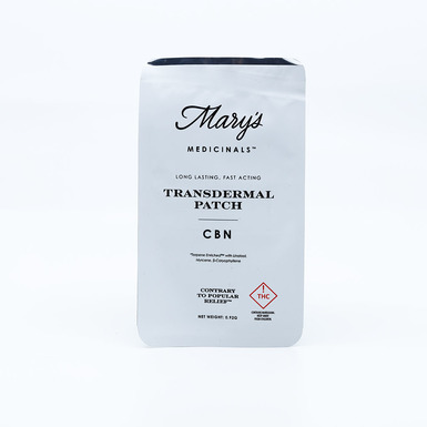 Mary's Medicinals Patch Cbn 2mg