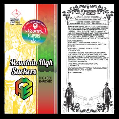Mountain High Suckers Honey Dew Melon 10mg