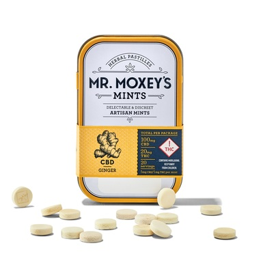 Mr Moxey's 5_1 Ginger Mints 20mg