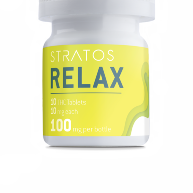 Stratos THC Relax Tablets 100mg