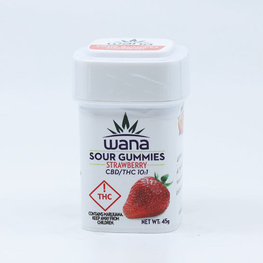 Wana Strawberry Gummies CBD 10mg