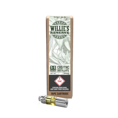 Willie's Reserve 1_1 Cartridge 500mg