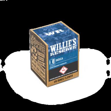 Willies Reserve 1/8 Indica