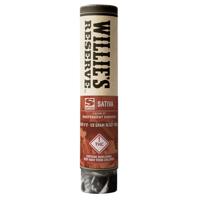 Willies Reserve Double Barrel Joint Sativa