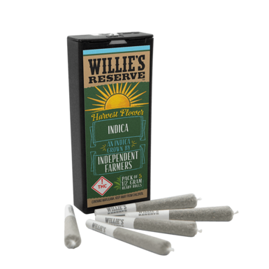 Willies Reserve Harvest Joints 2.5 Indica
