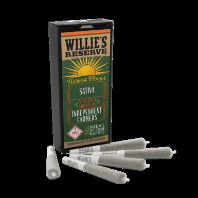 Willies Reserve Harvest Joints 2.5 Sativa