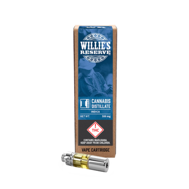 Willies Reserve Indica Cartridge 500mg