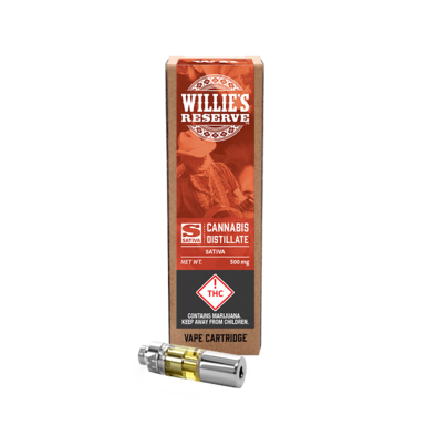 Willies Reserve Sativa Cartridge 500mg